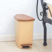 GAOLILI Pedal Trash Cans Environmental Protection Plastic Trash Cans Bathroom Trash Dustbins