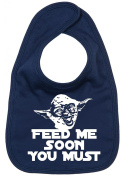 Image is Everything - Feed me soon you must - Yoda - Baby, Toddler, Feeding Bib