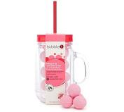 Bubble T Hibiscus and Acai Berry Tea Bath Fizzers Jar