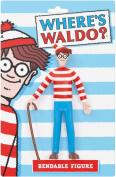 Where's Waldo. Bendable Figure
