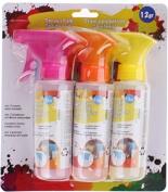 spray gun assortment 3 x 12 grammes pink / orange / yellow