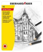 Eberhard Faber 516916 Drawing Set Artist Colour, 16 pieces