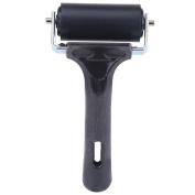 Rubber Roller for Printmaking Wallpapers Stamping, Rubber Brayer Ideal for Anti Skid Tape Construction Tools