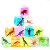 Kcilife® 12 Colour Slime Kids jigsaw puzzles Mates Puzzle Toys Dinosaur Slime Stress Relief Toys Adult Games Stress Toys Adult Toys Adults Sensory Toys Relieves Stress Jigsaws Puzzle(1 PC Random Colour)