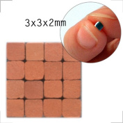 Mosaic-Minis (3x3x2mm), 1000 pieces, Teracotta red, RN01
