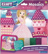 Craft Time Kids Arts Learning Activity Make Sparkly Picture Princess Mosaics