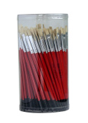 Tristar Série 308 Lot of 144 Brushes silk pig'S Red