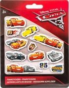 Disney Cars 3 foam stickers 12 pcs