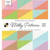 DCWV Milky Prints 6x6 Cardstock