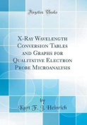 X-Ray Wavelength Conversion Tables and Graphs for Qualitative Electron Probe Microanalysis