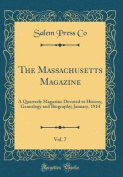 The Massachusetts Magazine, Vol. 7