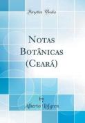 Notas Botanicas (Ceara)  [POR]