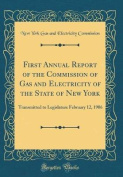First Annual Report of the Commission of Gas and Electricity of the State of New York