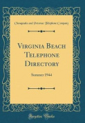 Virginia Beach Telephone Directory