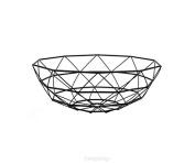 Black Iron Basket Diamond