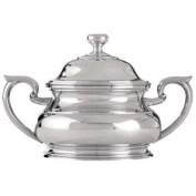 Royal Selangor Hand Finished Sovereign Collection Pewter Sugar Bowl with Lid