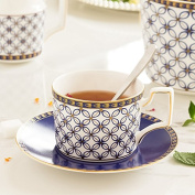 HAN-NMC Ceramic Cup Coffee Cup And Dish Suit Cup