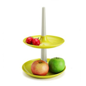 OUMOSI Cake Stand Practical Space-saving Cake Serving Dessert Tower Platter for Party Birthday Wedding