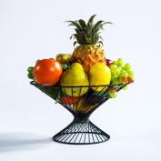 HETAO Creative fashion metal tray Fruit basket Fruit bowl kitchen Storage basket dried fruit candy living room