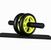Ultrasport Ab Wheel Compact Abdominal Muscle Trainer for the Home