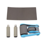 Forfar Sports Folding Power Rollers Abdominal Muscle Dual Bearing Wheels Shape Training Health Fitness Equipment