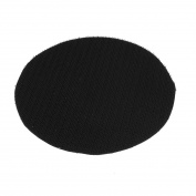 "5"" 125mm Diameter Round Velvet Polishing Pad Mat Rotary Tool Black"