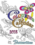 Colouring Calendar 2018 Butterflies