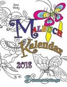 Malbuch Kalendar 2018 Schmetterlinge [GER]