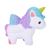 Squeeze Toys,Amphia Elastic Environmentally PU Simulated Dreamlike Unicorn Stress Relief Toys,Super Slow Rising Gift/Home Decor for Kids And Adult
