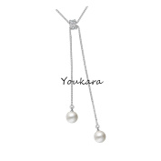 Youkara Teen Girls Women Classic Tassel Necklace Pendant Clavicle Chain Choker Length Adjustable Chain Necklace