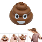 Crazy Stool Squeeze Poo Scented Squishy Toys, HOMEBABY 8.7cm Slow Rising Squeeze Toys Cream Scented Decompression Toys Fun Toy Gift Kids Soft Toy Jumbo Collection Easter Gift