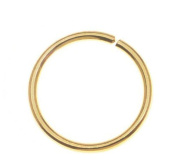 . 1 Set (100pcs) New 21 Gauge Gold Chain Round Unsoldered Open Jump Rings/Connectors/Connecting Rings