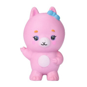 Cooljun Squishy Cute Goat Gift Jumbo 10cm Slow Rising With Packaging Animals Collection Pink Toy
