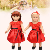 For American Girl Doll Princess Dress,Wyurhjh® Lifelike Baby Dolls' Fabrics Weeding Dress Clothing for 46cm Our Generation Reborn Pop Toy