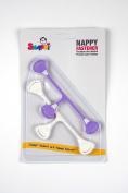 Snappi Nappy Pins for Prefolds/Muslin Nappy – (13 – 14 cm) – (Set of 2