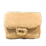 Little Finger Women Plush Cross Body Single Shoulder Bag Phone Pouch Handbag Gift size 18cm x 20cm x 13cm x 8cm