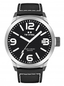 TW Steel Marc COBLEN Edition with Leather Strap 50 MM Black/Black TWMC54