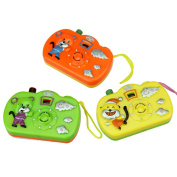 1pc New Funny Projection Camera Toy Multi Animal Pattern Light Projection Educational Toys Random Color