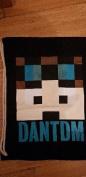 Dan TDM Minecraft Youtuber Drawstring Gym Sport Bag