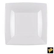 Nice Plastic Dessert Plates 180 mm PP CFZ 25PZ Bianco