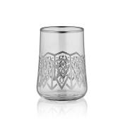 Aheste Coffee Side Glass - Seljuq - Platinum