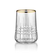 Aheste Coffee Side Glass - Diamond Premium