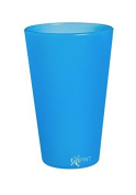 SiliPint Bend Blue Shatterproof Silicone Pint Glass, 470mls by Cypress