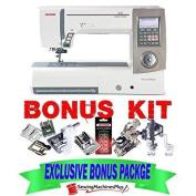 janome horizon 8900qcp sewing machine w/ exclusive bonus package