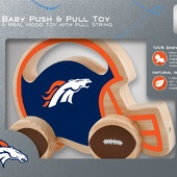 NFL Denver Broncos Push & Pull Toy by MasterPieces