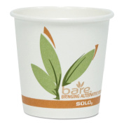 SOLO Cup Company Bare by Solo Eco-Forward Recycled Content PCF Paper Hot Cups, 300ml, 1,000/Ct