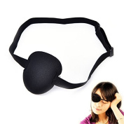 uhoMEy Medical Concave Eye Patch Foam with Adjustable Strap