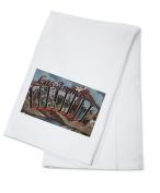 Las Animas, Colorado - Large Letter Scenes