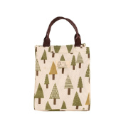 Lunch Bags,Clode® 1PC Insulation Package Portable Waterproof Canvas Lunch Bags Lunch With Rice
