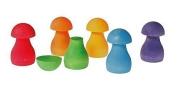 Grimm's Sorting Game Rainbow Mushrooms
